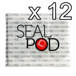 สติกเกอร์ปิดแคปซูล 12 ชุด (12 Sticker Sets)