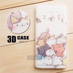เคส Samsung Galaxy Note 5 เคสนิ่ม สกรีนลาย 3D สามมิติ แบบที่ 3