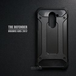 เคส Huawei GR5 2017 เคสบั๊มเปอร์ (เสริมขอบกันกระแทก) สีดำ Hybrid Protection
