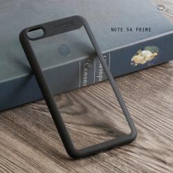เคส Xiaomi Redmi Note 5A Prime เคส Hybrid ฝาหลังอะคริลิคใส ขอบยางกันกระแทก แบบที่ 2 (ขอบนูนรอบกล้อง) สีดำ