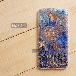 เคส Nokia 2 เคสนิ่ม TPU พิมพ์ลาย แบบที่ 3 Golden Gear