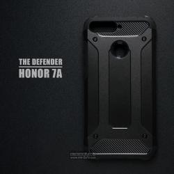 เคส Honor 7A เคสบั๊มเปอร์ (เสริมขอบกันกระแทก) สีดำ Hybrid Protection