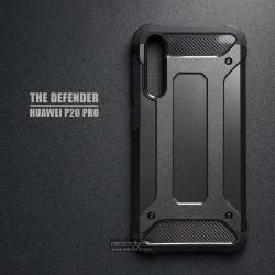 เคส Huawei P20 Pro เคสบั๊มเปอร์ (เสริมขอบกันกระแทก) สีดำ Hybrid Protection