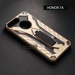 เคส Honor 7A เคสบั๊มเปอร์ กันกระแทก Defender 2 ชั้น (พร้อมขาตั้ง) สีทอง (แบบที่ 2)