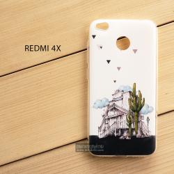 เคส Xiaomi REDMI 4X เคสนิ่ม TPU พิมพ์ลาย แบบที่ 1