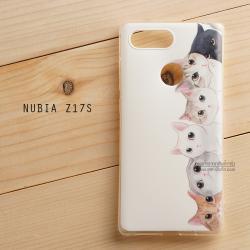เคส Nubia Z17s เคสนิ่ม TPU พิมพ์ลาย แบบที่ 9