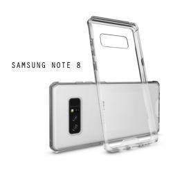 เคส Samsung Galaxy Note 8 เคส Hybrid ฝาหลังอะคริลิคใส ขอบยางกันกระแทก สีใส