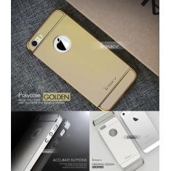เคส iPhone 5 / 5S / SE เคส iPaky เคสแข็งความยืดหยุ่นสูง (Hybrid Case) แบบ 3 ส่วน สีทอง