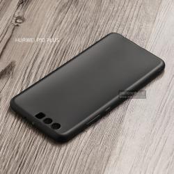 เคส Huawei P10 Plus เคสนิ่ม TPU สีเรียบ สีดำ