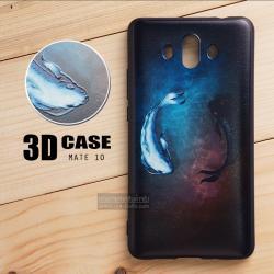 เคส Huawei Mate 10 เคสนิ่ม TPU พิมพ์ลาย 3D (ขอบดำ) แบบที่ 2
