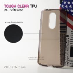 เคส ZTE Axon 7 Mini เคสนิ่ม TPU (ผิวมัน-แบบหนา) พร้อมจุด Pixel ขนาดเล็กด้านในเคสป้องกันเคสติดกับตัวเครื่อง สีดำใส