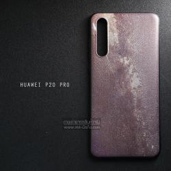 เคส Huawei P20 Pro เคสนิ่ม TPU พิมพ์ลายนูน (ขอบดำ) ลายปูนเปลือย