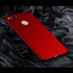 เคส Nubia Z17 mini เคสแข็งสีเรียบ คลุมขอบ 4 ด้าน สีแดง