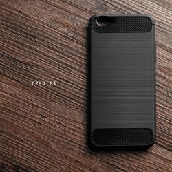 เคส OPPO F3 / OPPO A77 เคสนิ่มเกรดพรีเมี่ยม (Texture ลายโลหะขัด) กันลื่น ลดรอยนิ้วมือ สีดำ