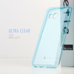 เคส HTC U11 เคสนิ่ม ULTRA CLEAR สีฟ้าใส