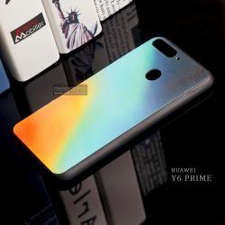 เคส Huawei Y6 Prime เคสขอบนิ่มสีดำ ฝาหลังอะคริลิค พิมพ์ลายหลายสี แบบที่ 1