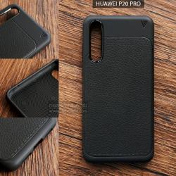 เคส Huawei P20 PRO เคสนิ่มเกรดพรีเมี่ยม ลายหนัง (ขอบนูนกันกล้อง) แบบที่ 1