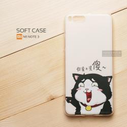 เคส Xiaomi Mi Note 3 เคสนิ่ม TPU พิมพ์ลาย แบบที่ 6