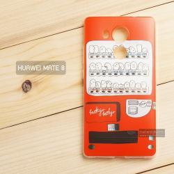 เคส Huawei Mate 8 เคสนิ่ม TPU พิมพ์ลาย แบบที่ 1