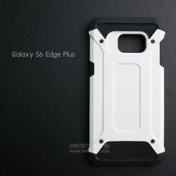 เคส Samsung Galaxy S6 Edge+ (Edge Plus) เคสบั๊มเปอร์ (เสริมขอบกันกระแทก) สีขาว Hybrid Protection