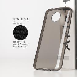 เคส Moto G5s Plus เคสนิ่ม ULTRA CLEAR พร้อมจุดขนาดเล็กป้องกันเคสติดกับตัวเครื่อง สีดำใส