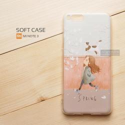 เคส Xiaomi Mi Note 3 เคสนิ่ม TPU พิมพ์ลาย แบบที่ 2