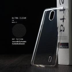 เคส Nokia 2 เคสนิ่ม ULTRA CLEAR พร้อมจุดขนาดเล็กป้องกันเคสติดกับตัวเครื่อง สีใส