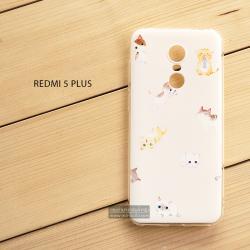 เคส Redmi 5 Plus เคสนิ่ม TPU พิมพ์ลาย แบบที่ 11
