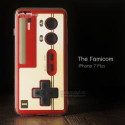 เคส iPhone 7 Plus และ 8 Plus เคสนิ่ม TPU พิมพ์ลาย Famicom
