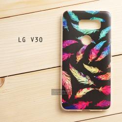 เคส LG V30 เคสนิ่ม TPU พิมพ์ลายแบบที่ 5