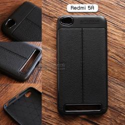 เคส Xiaomi Redmi 5A เคสนิ่ม Hybrid เกรดพรีเมี่ยม ลายหนัง (ขอบนูนกันกล้อง) แบบที่ 2 (มีเส้นตรงกลาง)