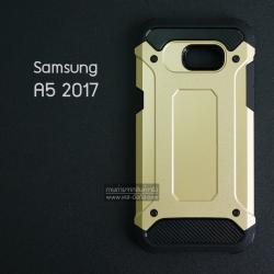 เคส Samsung Galaxy A5 (2017) เคสบั๊มเปอร์ (เสริมขอบกันกระแทก) สีทอง Hybrid Protection