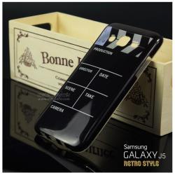 เคส Samsung Galaxy J5 เคสนิ่ม TPU Style เรโทร ลาย A