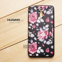 เคส Huawei Mate 9 Pro เคสนิ่ม TPU พิมพ์ลาย (ขอบดำ) แบบที่ 2