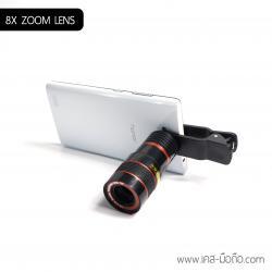 8X ZOOM Lens เลนส์ซูม 8 เท่า สำหรับมือถือ