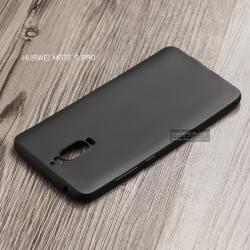 เคส Huawei Mate 9 Pro เคสนิ่ม TPU สีเรียบ สีดำ