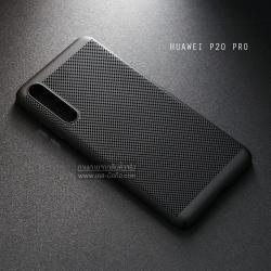 เคส Huawei P20 Pro เคสแข็งสีเรียบ (รูระบายอากาศที่เคส) สีดำ