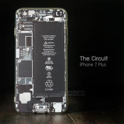 เคส iPhone 7 Plus และ 8 Plus เคสนิ่ม TPU พิมพ์ลาย แผง Circuit