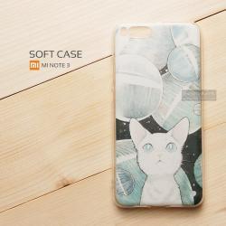 เคส Xiaomi Mi Note 3 เคสนิ่ม TPU พิมพ์ลาย แบบที่ 4