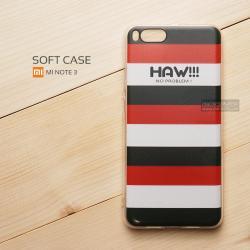 เคส Xiaomi Mi Note 3 เคสนิ่ม TPU พิมพ์ลาย แบบที่ 5 Haw!!! No Problem!