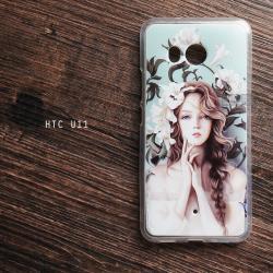 เคส HTC U11 เคสนิ่ม TPU พิมพ์ลาย แบบที่ 16