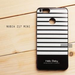 เคส Nubia Z17 mini เคสนิ่มพิมพ์ลายนูน (ขอบดำ) แบบ 2