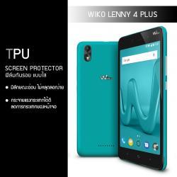 ฟิล์มกันรอย Wiko Lenny 4 Plus แบบใส (วัสดุ TPU)