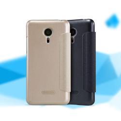 เคส Meizu MX5 เคสฝาพับ Sparkle จาก Nillkin (ของแท้) สีทอง