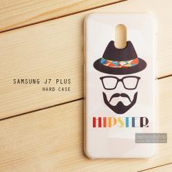 เคส Samsung Galaxy J7 Plus เคสแข็งพิมพ์ลาย แบบที่ 5 HIPSTER