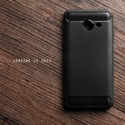 เคส Samsung Galaxy J5 2017 เคสนิ่มเกรดพรีเมี่ยม (Texture ลายโลหะขัด) กันลื่น ลดรอยนิ้วมือ สีดำ