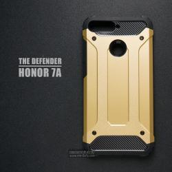 เคส Honor 7A เคสบั๊มเปอร์ (เสริมขอบกันกระแทก) สีทอง Hybrid Protection