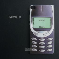เคส Huawei P8 เคสนิ่ม TPU พิมพ์ลาย แบบที่ 5
