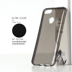 เคส Xiaomi MI A1 เคสนิ่ม ULTRA CLEAR พร้อมจุดขนาดเล็กป้องกันเคสติดกับตัวเครื่อง สีดำใส