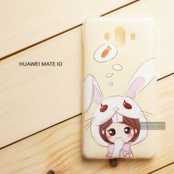 เคส Huawei Mate 10 เคสนิ่ม TPU พิมพ์ลาย แบบที่ 5